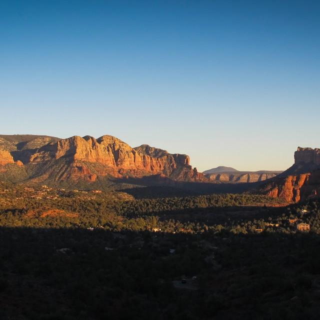 """Sedona vista Red rock state park, Arizona, USA"" stock image"