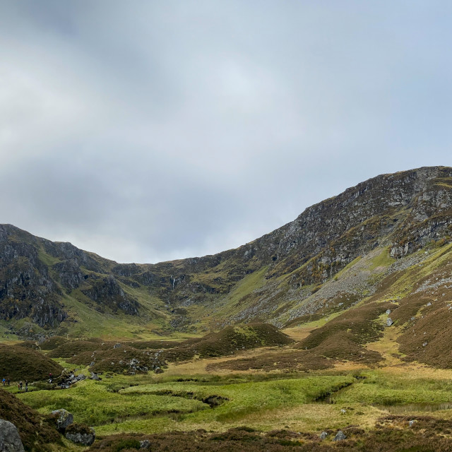 """""""Corrie Fee Nature Reserve."""" stock image"""