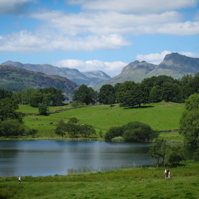 """Northern Lake District vista"" stock image"