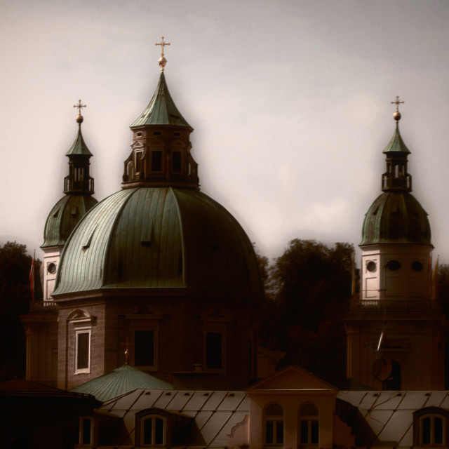 """Crosses & Domes"" stock image"
