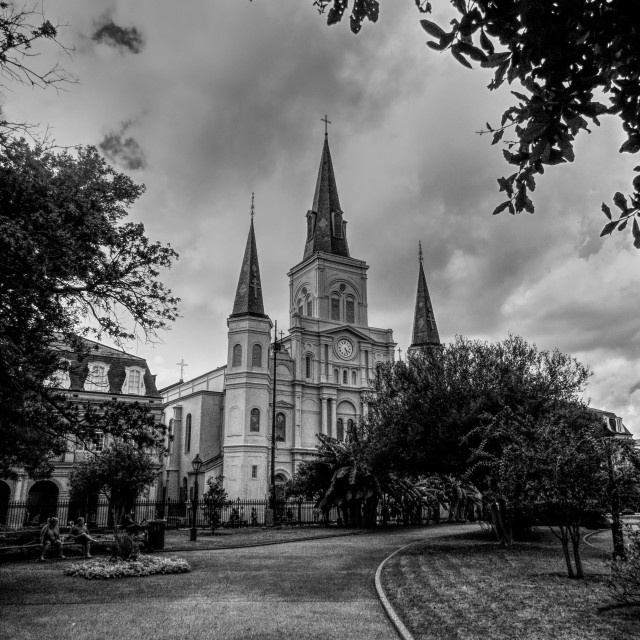 """St Louis Cathedral"" stock image"