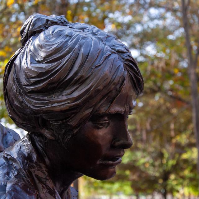 """""""Vietnam Women's Memorial"""" stock image"""