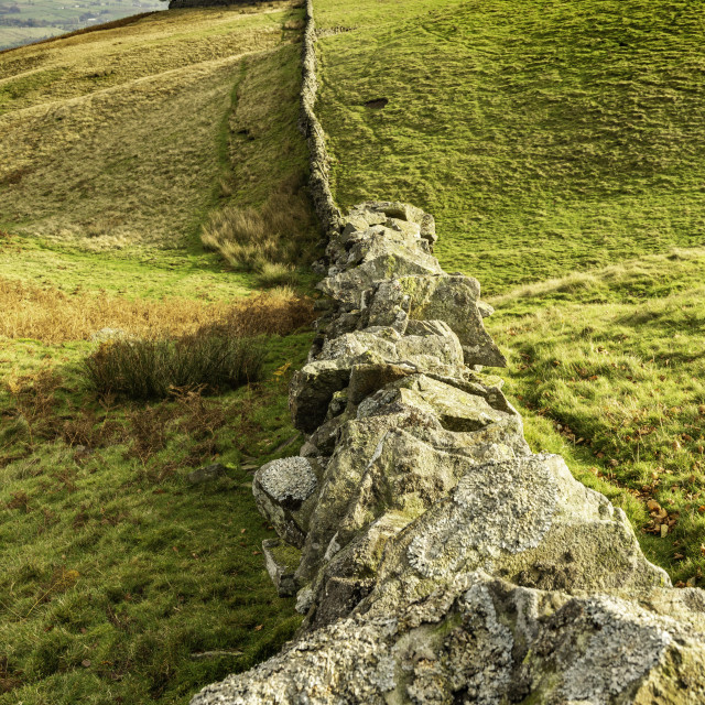 """""""Kirkcarrion, Middleton in Teesdale"""" stock image"""