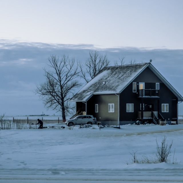 """Winter Scene"" stock image"