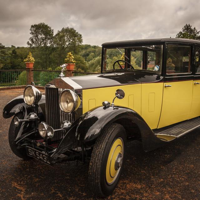 """Rolls Royce"" stock image"