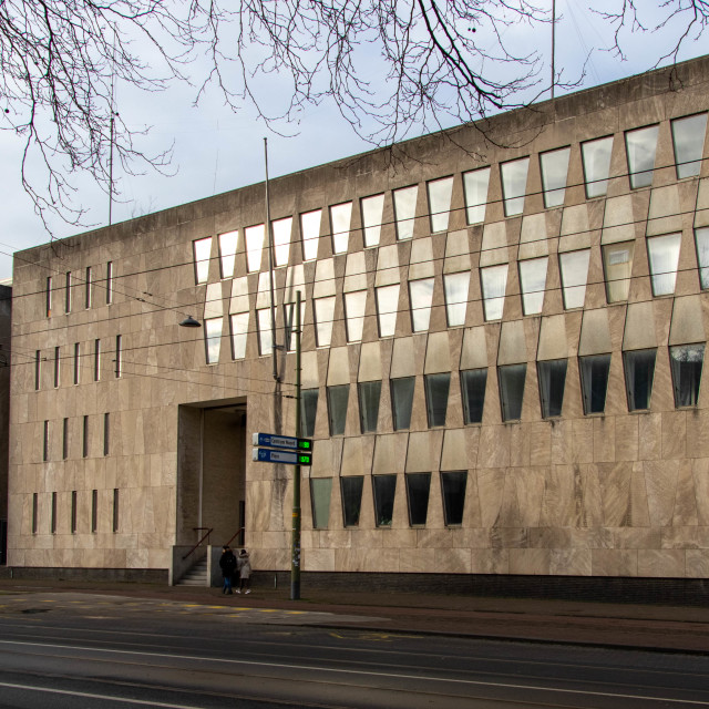 """""""Former US Embassy in The Hague"""" stock image"""