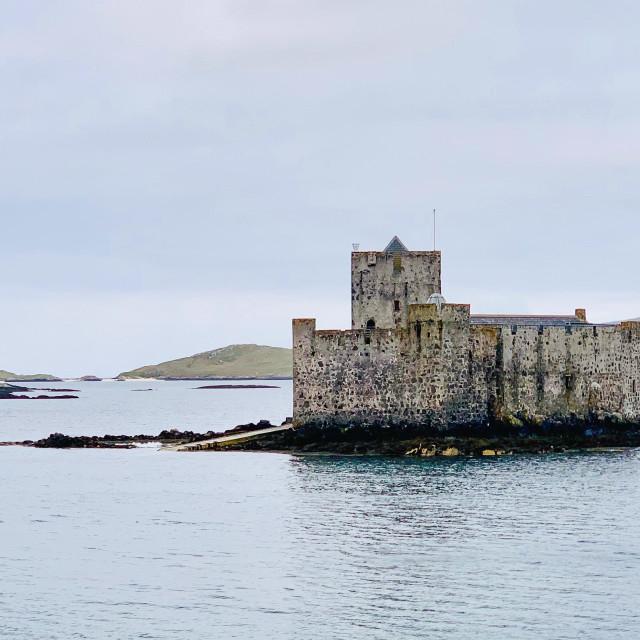"""""""Kisimul Castle, Barra"""" stock image"""