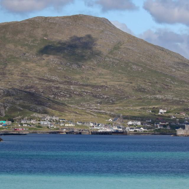 """""""Mountain, Barra"""" stock image"""
