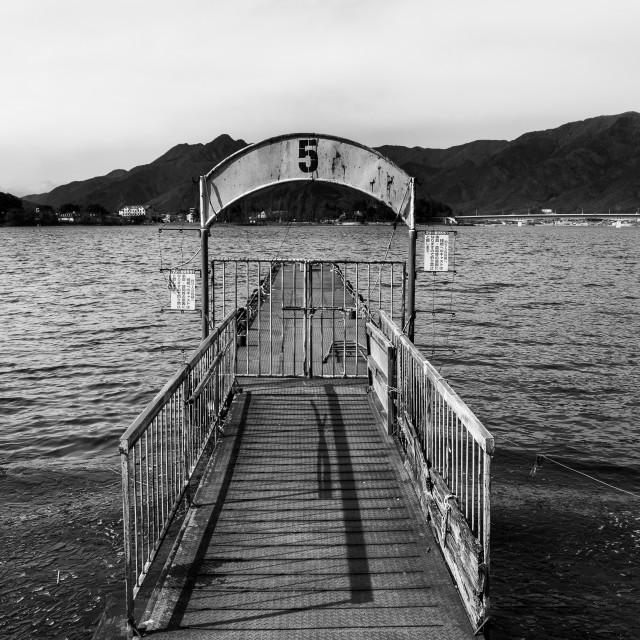 """Pier No. 5"" stock image"