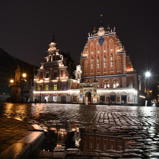 """Old Riga"" stock image"