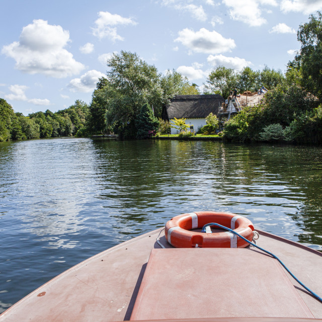 """Norfolk Broads"" stock image"