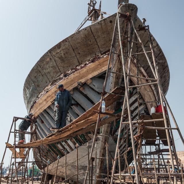 """Ship Builders"" stock image"