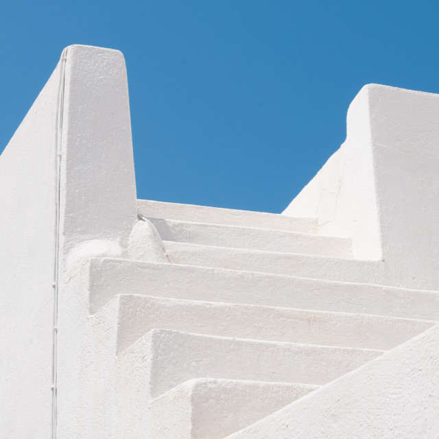 """""""Steps to Roof Terrace"""" stock image"""
