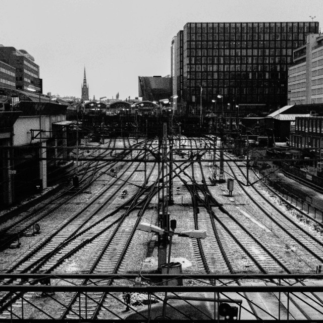 """Stockholm Central"" stock image"