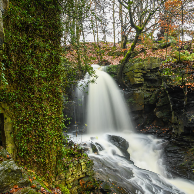 """""""The mills close and the rivers carry on..."""" stock image"""