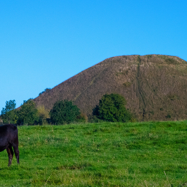 """""""Guardians of Silbury Hill"""" stock image"""