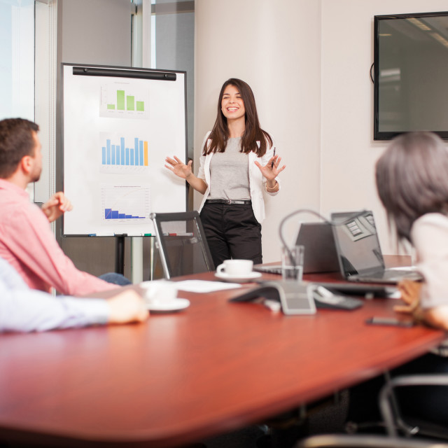 """""""Business people on a meeting"""" stock image"""