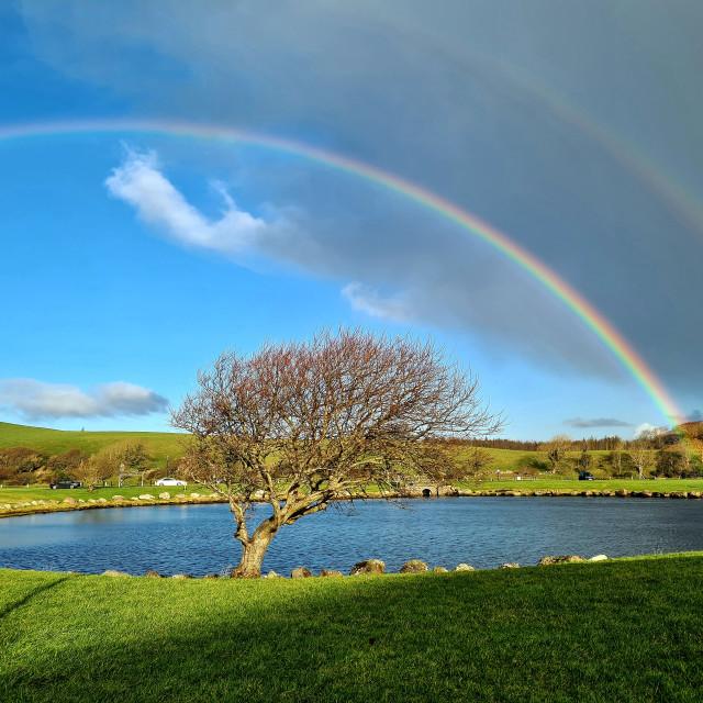 """Sunshine after the rain"" stock image"