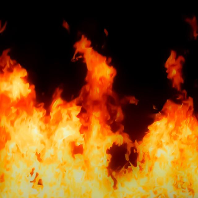 """Fire artwork"" stock image"
