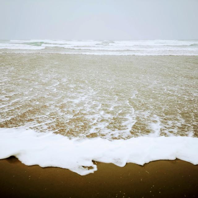 """Sea foam!"" stock image"