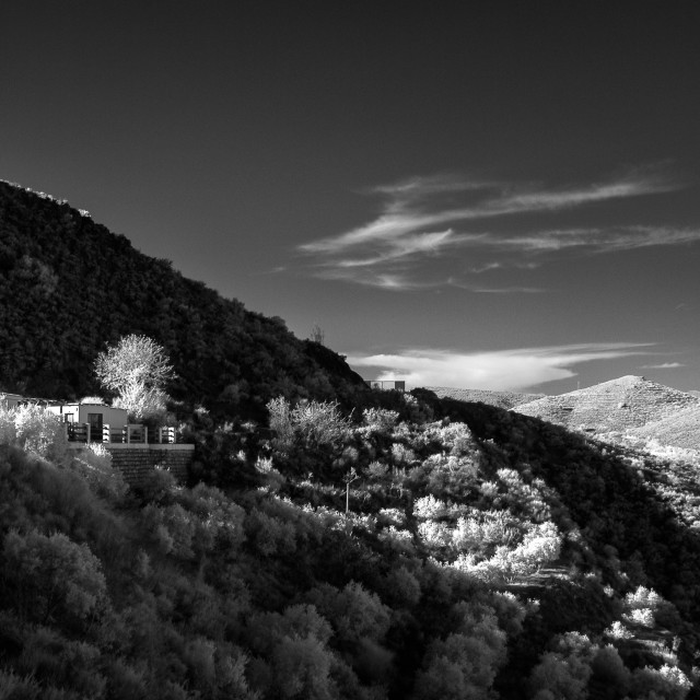 """""""A House in the Alpujarras"""" stock image"""