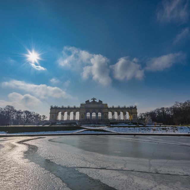 """Gloriette Schloss Schönbrunn Vienna"" stock image"