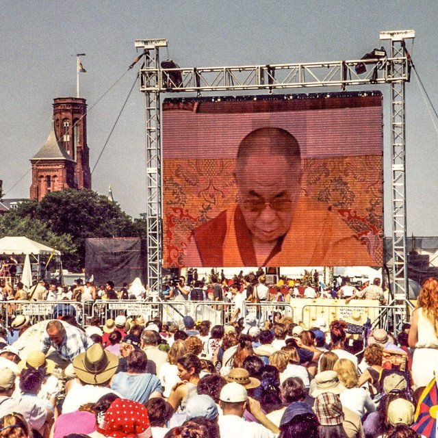 """""""Dalai Lama"""" stock image"""