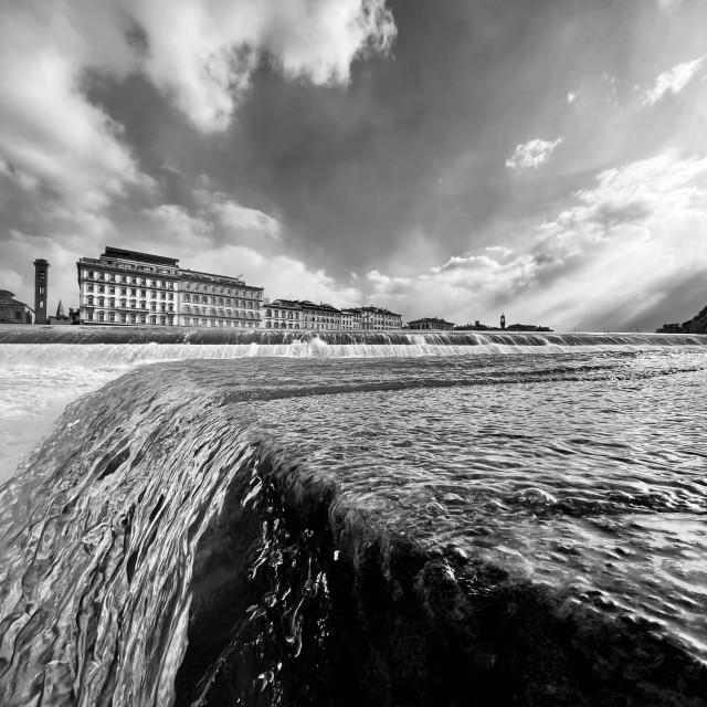 """Pescaia Santa Rosa, Florence - Italy"" stock image"