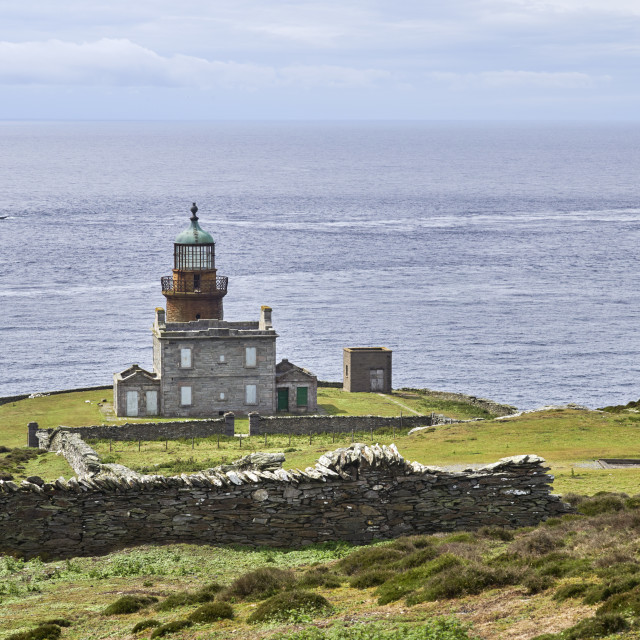 """""""One of the original two lighthouses"""" stock image"""