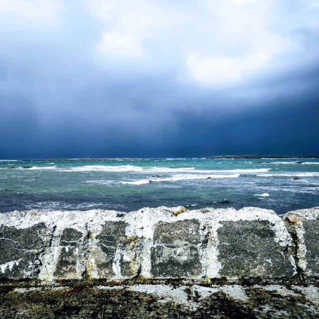 """Sea wall!!"" stock image"
