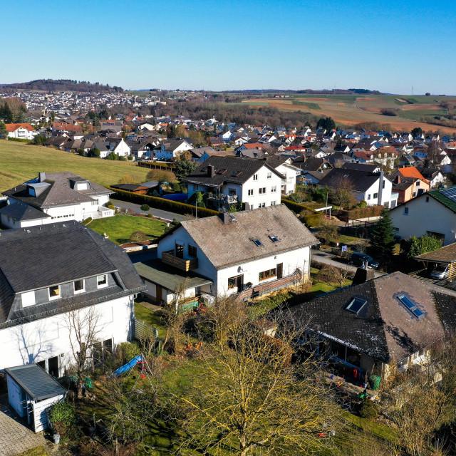 """Einfamilienhäuser"" stock image"