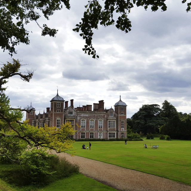 """Blickling Hall Norfolk"" stock image"