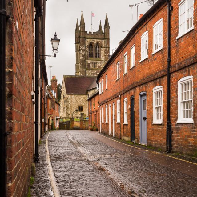 """Farnham Town"" stock image"