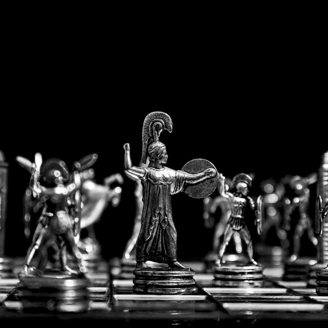 """""""Chess board."""" stock image"""