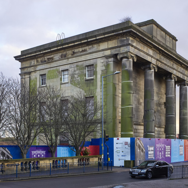 """""""Curzon Street station building in Digbeth"""" stock image"""