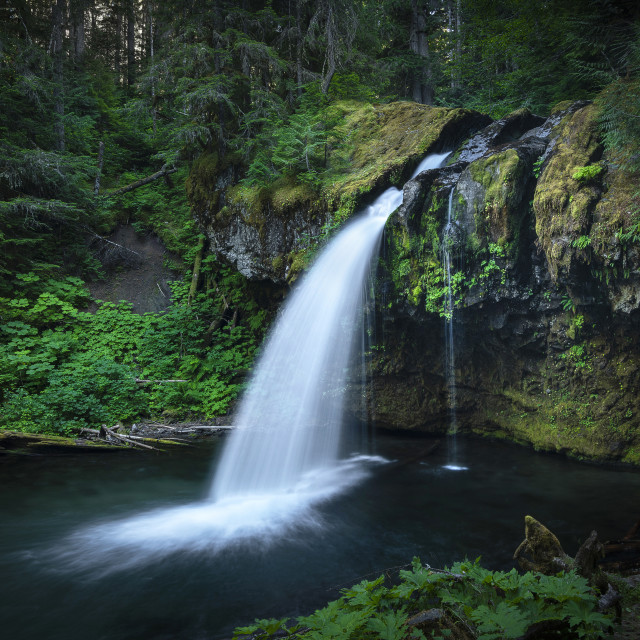 """Iron Creek Falls"" stock image"