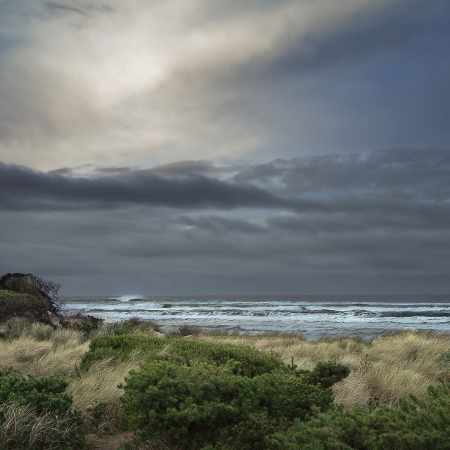 """""""Stormy morning"""" stock image"""