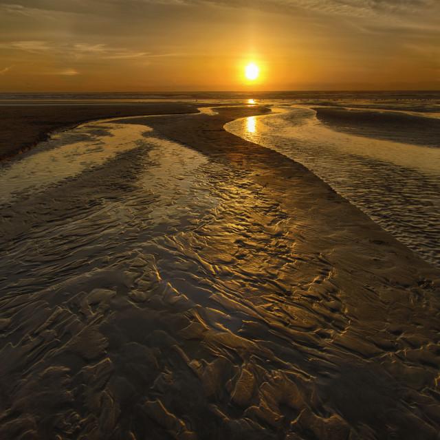 """""""Golden ocean"""" stock image"""