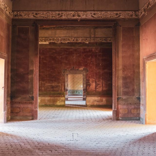 """Ex-Hacienda Jaral de Berrio, San Felipe, Guanajuato, Mexico"" stock image"