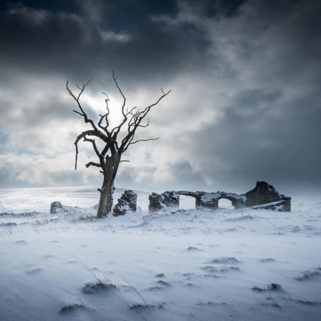 """Peak District Winter"" stock image"