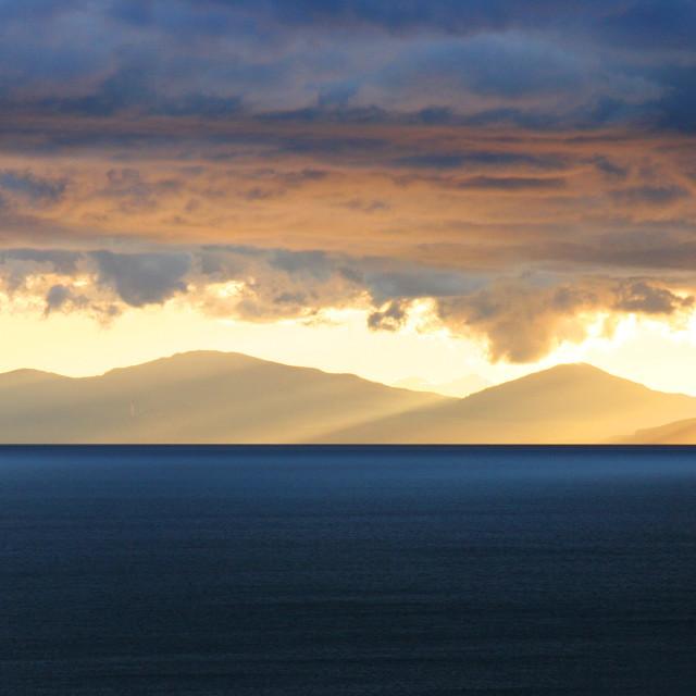 """""""Lake Taupo, New Zealand"""" stock image"""