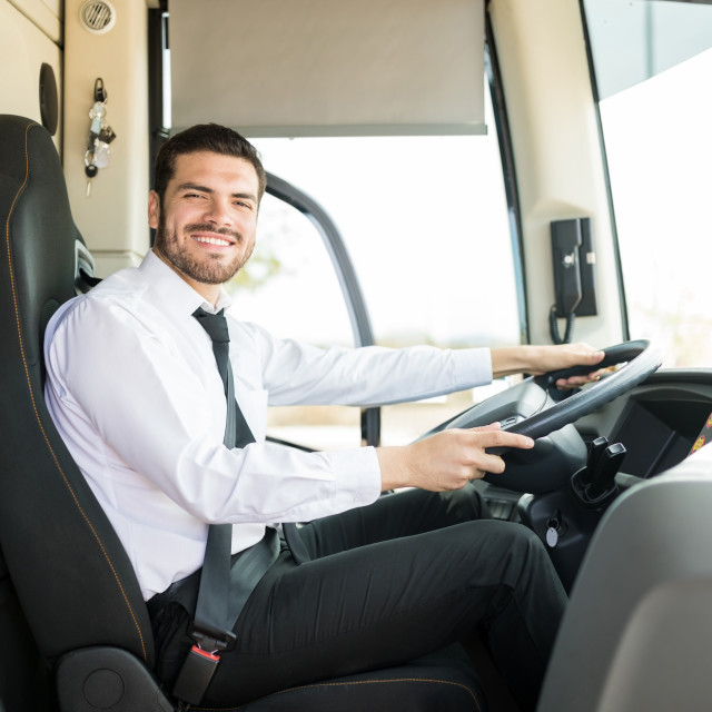 """""""I've Been Doing This Driving Thing For Years"""" stock image"""