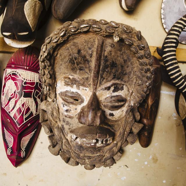 """Art and Artist at Burkina Faso"" stock image"