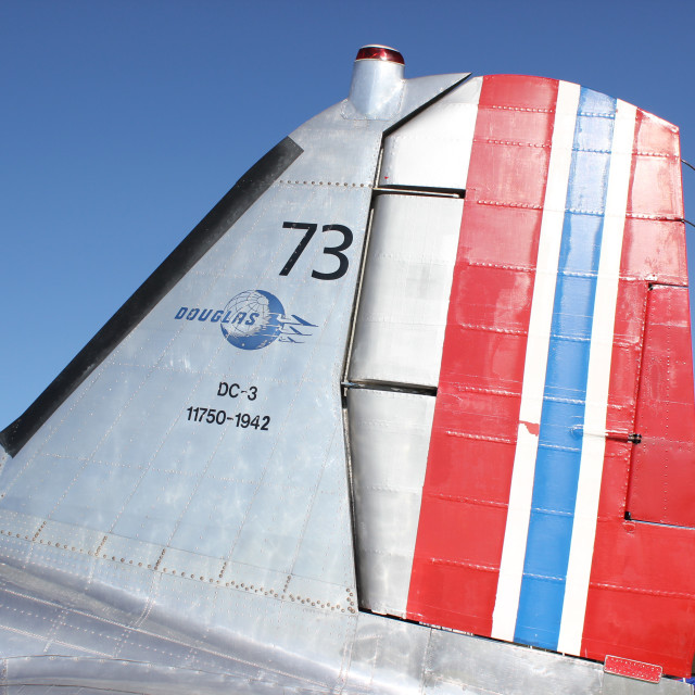 """1942 Douglas C42 Dakota"" stock image"