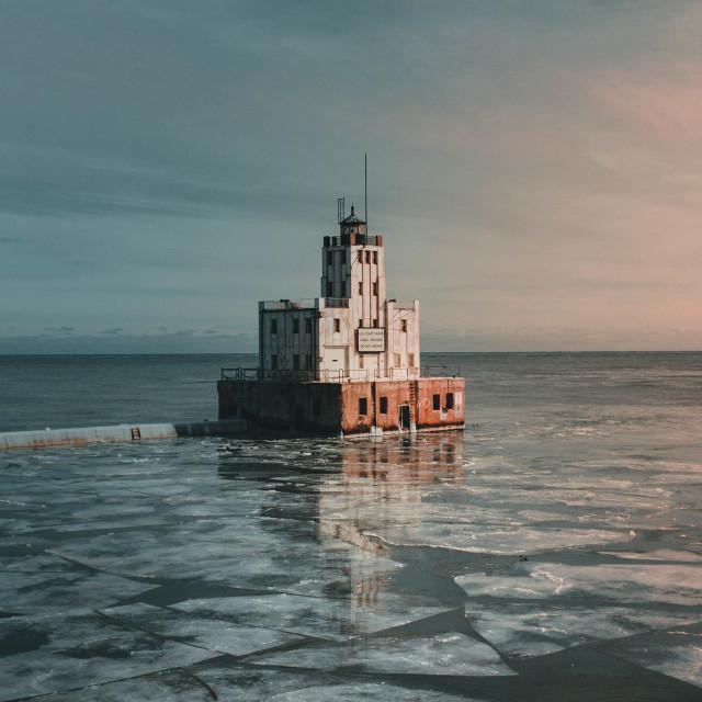 """A Milwaukee Lighthouse"" stock image"
