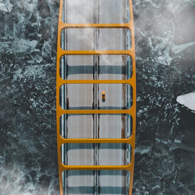 """Hoan Bridge Overview"" stock image"