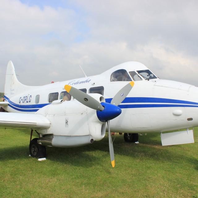 """De Havilland DH-104 Dove 8"" stock image"