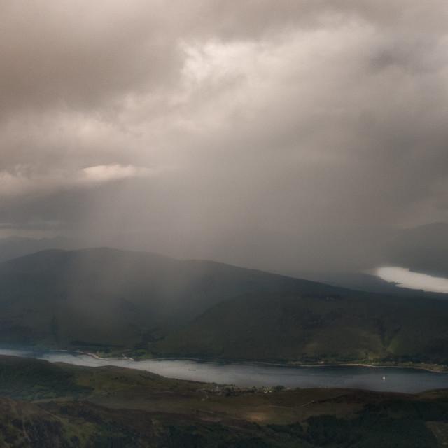 """""""Scottish view"""" stock image"""