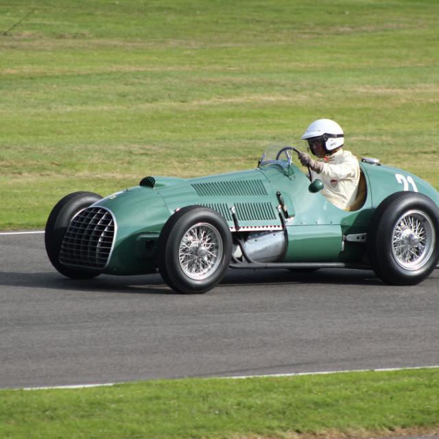 """1930s Motor Racing Classic Car"" stock image"