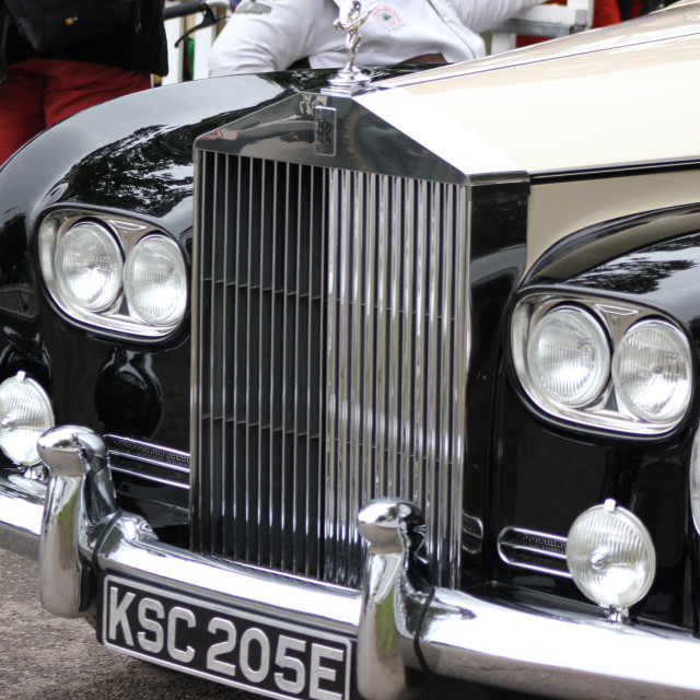 """Vintage Rolls Royce"" stock image"